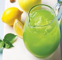 zelená limonáda