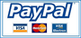 Logo PayPal, Kreditkarte via PayPal, Lastschrift via PayPal