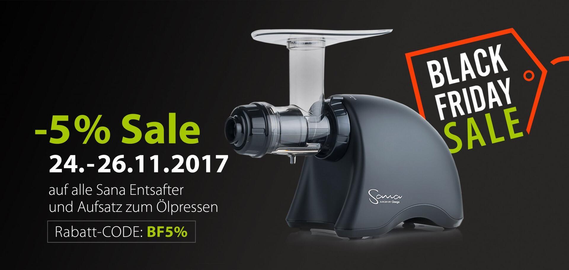 Black Friday Sale 2017 | EUJUICERS.DE