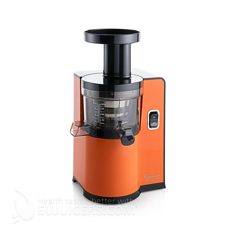 Sana Juicer by Omega EUJ-808 orange ohne direktem Lichteinfall   EUJUICERS.DE