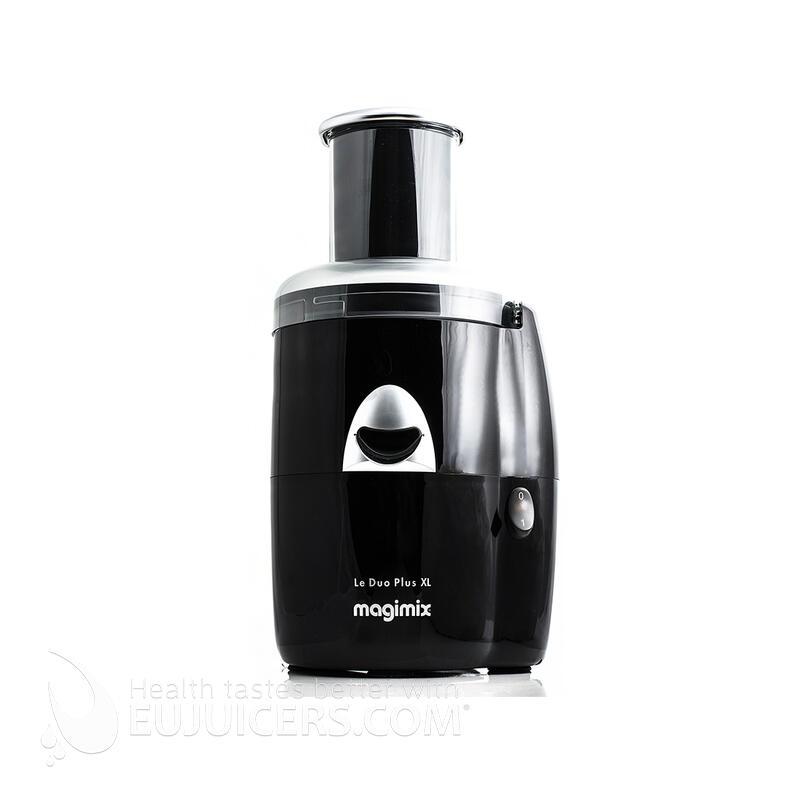 Magimix Le Duo Plus XL schwarz Zentrifugen-Entsafter | EUJUICERS.DE