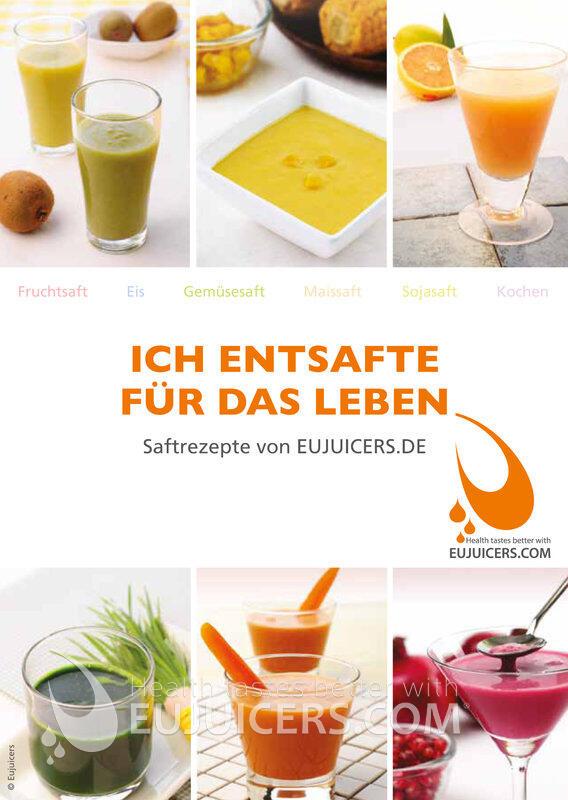 Ich entsafte für das Leben EUJUICERS-Hurom Rezeptbuch im PDF-Format | EUJUICERS.DE