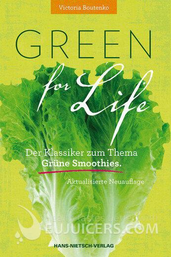 Green for Life von Victoria BOUTENKO ISBN 9783939570707 | EUJUICERS.DE