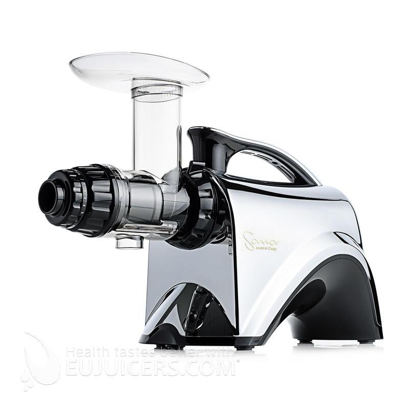 Sana Juicer By Omega EUJ-606 chrom | EUJUICERS.DE