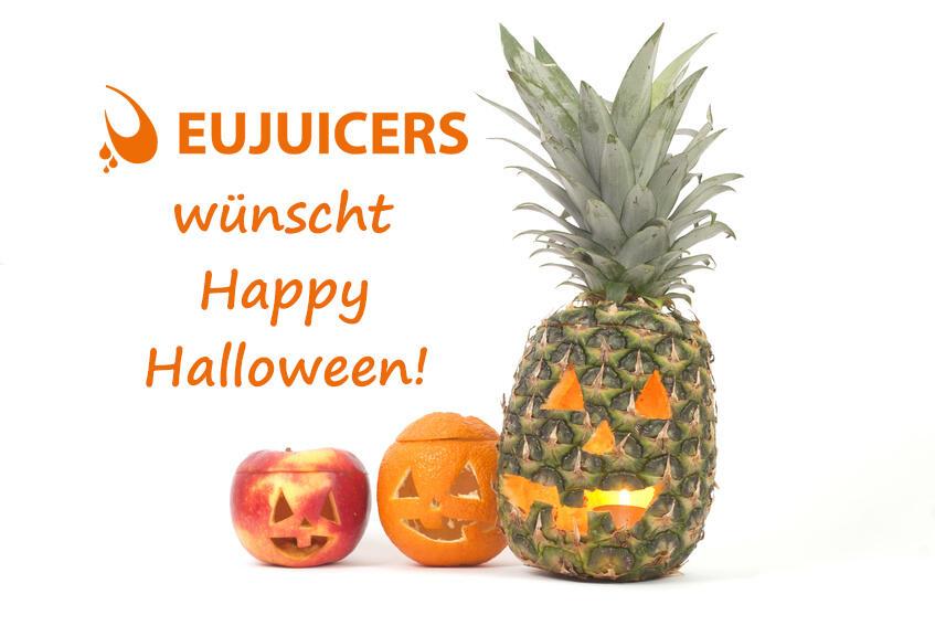 Happy Halloween wünscht EUJUICERS.DE
