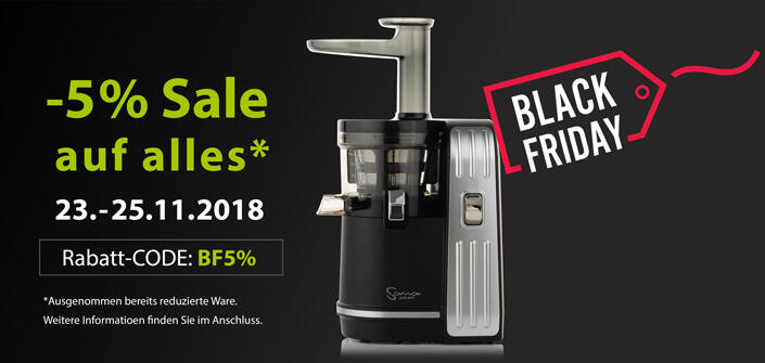 Black Friday 2018 | EUJUICERS.DE