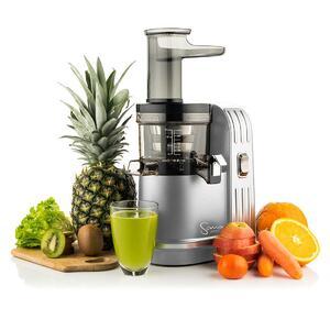 Sana Juicer EUJ-828 silber - Beispiel Einsatz in der Küche | EUJUICERS.DE