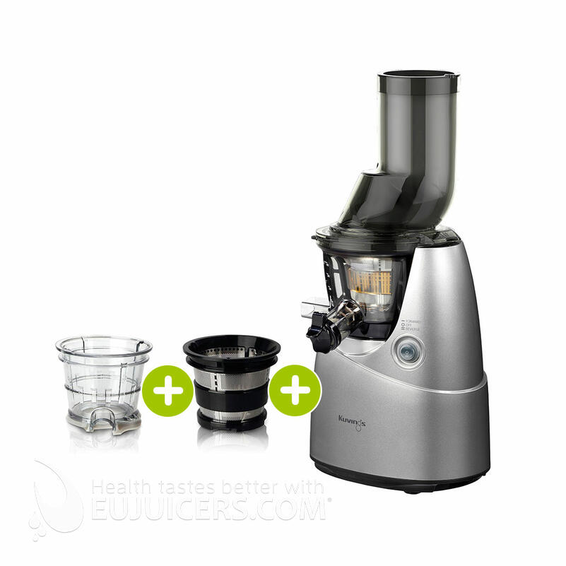 Kuvings B6000 Entsafter silber plus Smoothie- & Eiscreme-Set | EUJUICERS.DE