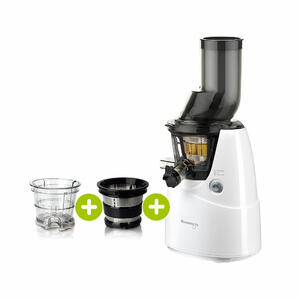 Kuvings B6000 Entsafter weiß plus Smoothie- & Eiscreme-Set | EUJUICERS.DE