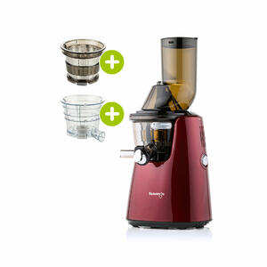 Kuvings C9500 Entsafter rot plus Smoothie- & Eiscreme-Set | EUJUICERS.DE