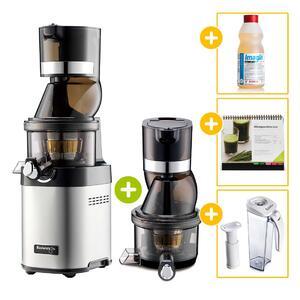 Kuvings Whole Slow Juicer Chef CS600 + Citroclean + Rezeptbuch + Vakuum-Saftbehälter inkl. Pumpe | EUJUICERS.DE