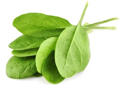 Spinat enthält natürliches Retinol aus Vitamin A, das die Haut glättet und den Kollagenspiegel erhöht | EUJUICERS.DE