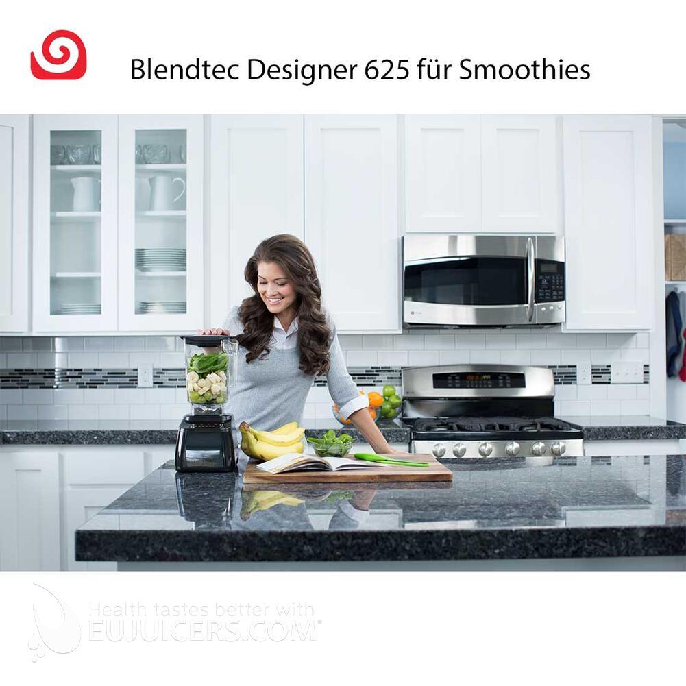 Blendtec Designer 625 JETZT mit GRATIS Zusatzbehälter Ihrer Wahl