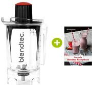 Original Blendtec Rezeptbuch + 1 Liter Twister Jar | EUJUICERS.DE