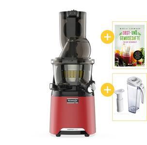 Kuvings HealthFriend Smart Juicer MOTIV 1 rot mit Werbegeschenke | EUJUICERS.DE