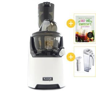 Kuvings EVO820 Whole Slow Juicer Weiß mit Werbegeschenken | EUJUICERS.DE